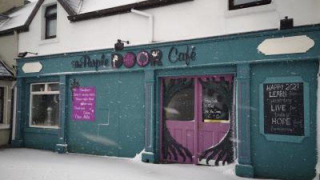 The Purple Door Café